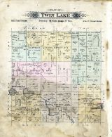 Twin Lake, Hancock County 1896